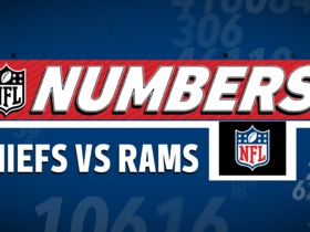 Watch: NFL Numbers Chiefs VS Rams Monday Night Football