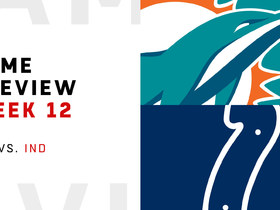 Watch: Dolphins vs. Colts | Week 12 Preview