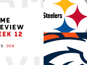 Watch: Steelers vs. Broncos | Week 12 Preview