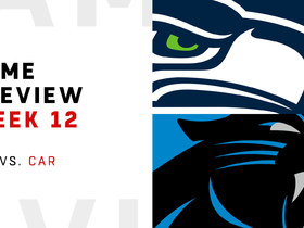 Watch: Seahawks vs. Panthers   Week 12 Preview