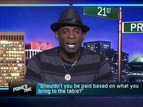 Watch: 'It ain't right!' Prime sounds off pay disparity between QBs and everyone else