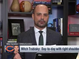 Watch: Garafolo on Trubisky injury: They are cautiously optimistic but will know more tomorrow