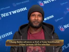 Watch: Champ Bailey makes his case for the Hall of Fame in 2019