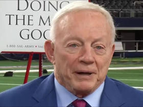 Watch: Jerry Jones: Fondest Thanksgiving memory is players giving back