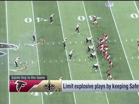 Watch: Casserly's keys to a Saints win over the Falcons