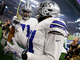 Watch: Zeke makes a donation in Salvation Army kettle after TD run