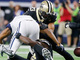 Watch: Marshon Lattimore's kneecap forces key Amari Cooper fumble