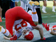 Watch: Travis Kelce dives for the pylon for Chiefs' first TD