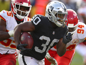 Watch: Jalen Richard stops on a dime, darts for 30 yards