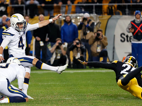 Watch: Field goal chaos eventually ends with Chargers winning