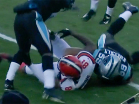 Watch: Panthers pounce on Kuechly's forced fumble