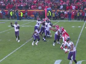 Watch: Can't-Miss Play: Lamar throws critical fourth-down TD pass to Maxx Williams