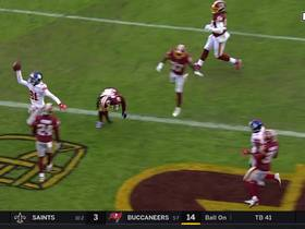Watch: Eli connects with Russell Shepard for second TD