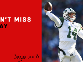 Watch: Can't-Miss Play: Darnold channels Favre on electric TD throw