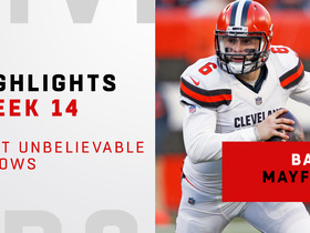 Watch: Baker Mayfield's most unbelievable throws vs. the Panthers | Week 14