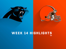 Watch: Panthers vs. Browns highlights | Week 14