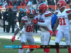 Watch: Every play from Jarvis Landry's 54-yard, 2-TD day | Week 14