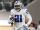 Watch: Zeke dashes up the middle for 20-yard gain