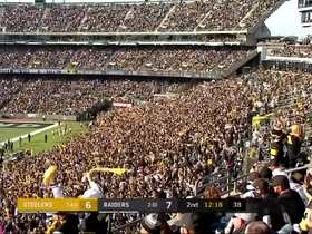 Watch: Steelers fans flood Oakland Alameda Coliseum with 'Terrible Towels'