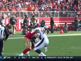 Watch: Joe Staley makes third career catch after tipped pass