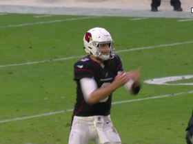 Watch: Rosen upset with Nelson after WR doesn't work back to ball on curl route