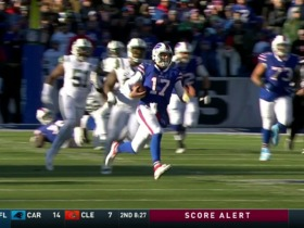 Watch: Josh Allen's best runs from record-setting three-week spree | Weeks 12-14
