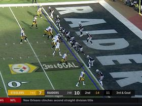 Watch: Can't-Miss Play: JuJu hauls in spectacular toe-tapping TD