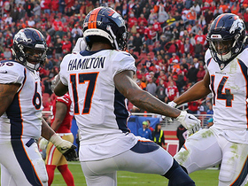 Watch: DaeSean Hamilton's first NFL TD comes at critical time for Broncos