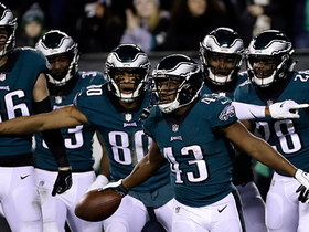 Watch: Sproles fights for every yard on game-tying TD