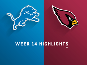 Watch: Lions vs. Cardinals highlights | Week 14
