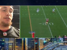 Watch: Kittle gets call from Deion Sanders after 210-yard performance
