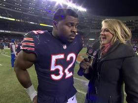 Watch: Khalil Mack on Nagy: He's the perfect guy for the job