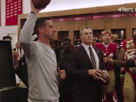 Watch: Jed York honors late brother in 49ers locker room speech