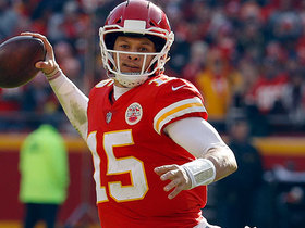 Watch: Schrager: Patrick Mahomes said 'put it on my shoulders,' and came up clutch