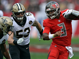 Watch: NFL-N-Motion: How the Saints consistently pressured Winston in Week 14