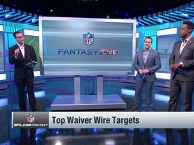 Watch: Four waiver-wire targets in Week 15 | NFL Fantasy Live