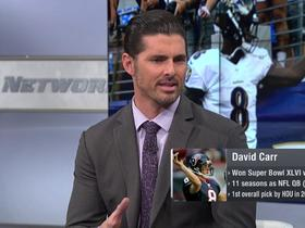 Watch: David Carr explains why Lamar Jackson gives Ravens the best chance to win