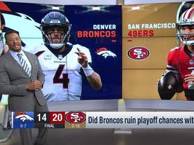 Watch: McGinest assesses where Broncos stand after loss to 49ers