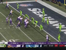 Watch: McDougald DENIES Cousins' fourth-and-goal pass with clutch pass breakup