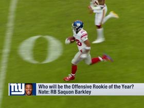 Watch: GMFB: Who will be the Offensive Rookie of the Year?