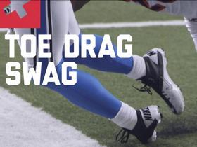 Watch: Burleson: Top Toe Drag Catches of Week 14