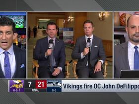 Watch: Pelissero: Ball got rolling on DeFilippo firing 'very quickly' after loss in Seattle