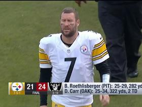 Watch: Tomlin, Roethlisberger discuss decision to for Big Ben to return to game vs. Raiders