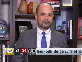 Watch: Garafolo breaks down the 'subtext' behind Big Ben's injury absence vs. Raiders