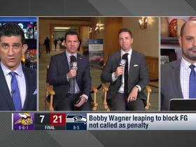 Watch: Should Bobby Wagner have been flagged on his FG block vs. the Vikings?
