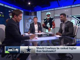 Watch: Should Seahawks be ranked above Cowboys? | Power Rankings