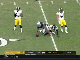 Watch: Jared Cooks shows off vs. Steelers