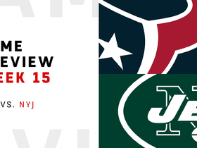 Watch: Texans vs. Jets preview | Week 15
