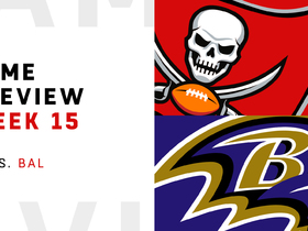 Watch: Buccaneers vs. Ravens preview | Week 15