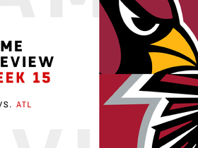 Watch: Cardinals vs. Falcons preview | Week 15